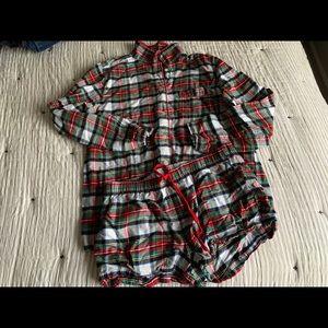 Gap Plaid Flannel Pajamas